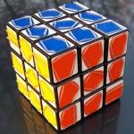 Utnött Rubik's kub
