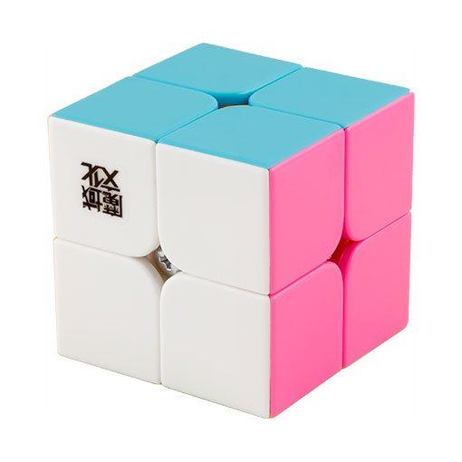 moyu-lingpo-2x2-pink-stickerless