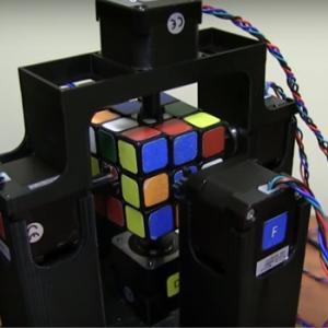Rubik's kub robot