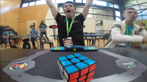världsrekord i rubiks kub