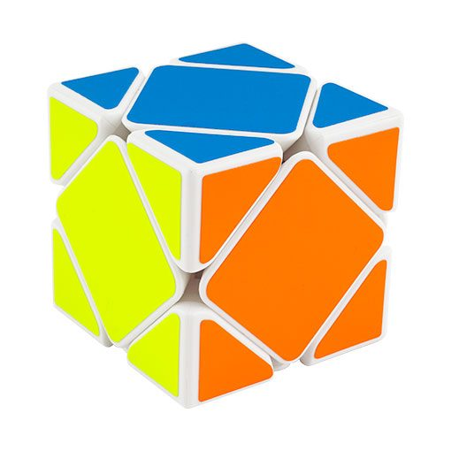 moyu-magnetic-skewb-white