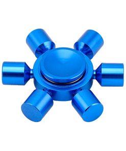 hex-fidget-spinner-blue