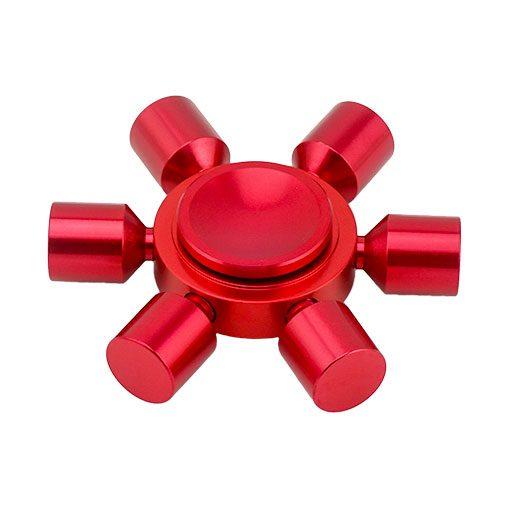 hex-fidget-spinner-red