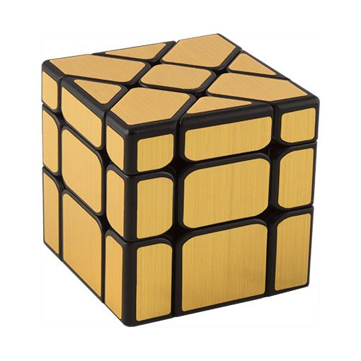 mofang-jiaoshi-fisher-mirror-cube-gold